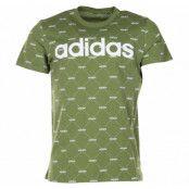 M Core Fav T, Tecoli/White, M,  Adidas Kläder