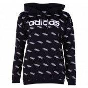 W Fav Hdy, Black/White, L,  Adidas Kläder