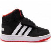 Hoops Mid 2.0 I, Cblack/Ftwwht/Hirere, 20,  Adidas Skor