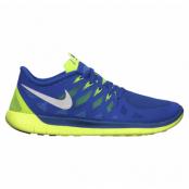 Nike Free 5.0, Hypr Cblt/White-Vlt-Elctrc Grn, 38,5