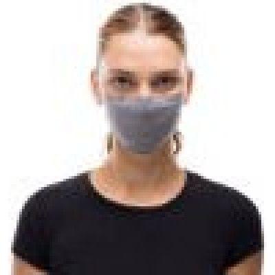 Buff Face Mask (Solid Grey Sedona) - Andningsmasker