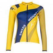 Giro L/S Bike Tee W, Navy/Yellow, 38,  Swedemount