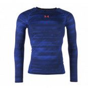 Armour Hg Ls Comp Printed, Academy, S,  Under Armor
