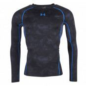 Armour Hg Ls Comp Printed, Black, M,  Under Armor