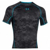Armour Hg Printed Ss, Black, L,  Under Armor