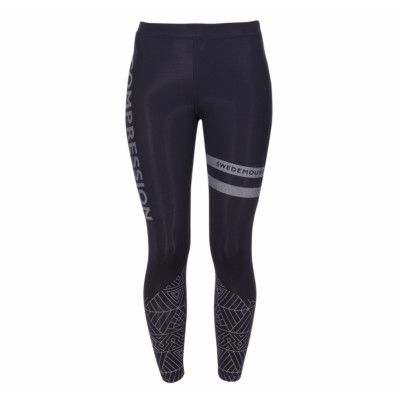 Compression Tights W, Black, 34,  Running Mail