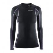 Craft Delta Compression Long Sleeve Shirt Dam - Svart/Lila Utförsäljning