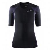 Craft Delta Compression Short Sleeve Shirt Dam - Svart/Lila - Utförsäljning