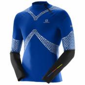 Salomon S-LAB Exo Jersey tröja Herr Blue Yonder/Black - Sista