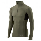 Skins Dnamic Thermal Long Sleeve Top With Zipper Mock Neck Men