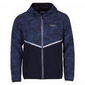 Athletic Jacket, Dk Navy/Navy Aop, L,  Jackor