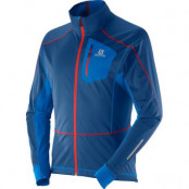 Salomon Equipe Softshell M Jacka Midnight Blue/Union Blue - Utgående Färg