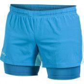 Run Shorts 2-1 W, Galaxy, M,  Craft