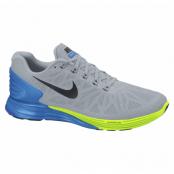 Nike Lunarglide 6, Lt Magnet Grey/Blk-Pht Bl-Vlt, 42