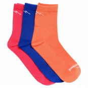 Bamboo Running Socks 3-Pack, Mix, 31-34,  Swedemount