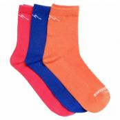 Bamboo Running Socks 3-Pack, Mix, 43-46,  Swedemount
