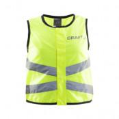 Craft Visibility Vest Neon Reflexväst Junior - sista stl