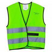 Reflective Vest Jr, Neon Green, 120/140,  Löpning