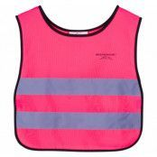 Reflective Vest Kids, Neon Pink, 100/120,  Löpning