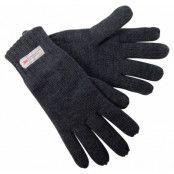 figaro lady gloves, grey melange, 8,  tuxer