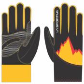 La Sportiva Syborg Gloves L Black/Yellow - Utförsäljning