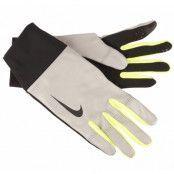 Nike Mens Vapor Flash Run Glov, Black/Volt, S,  Nike