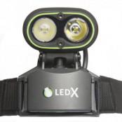 LedX Kaa 2000 Hjälmlampa
