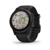 Garmin Fenix 6S Pro Black W/Black Band Gps Watch