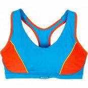 Active Sports Padded Bra - Bla, Blue/Grenadine, 75b,  Shock Arbsober